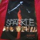 "Sparkle promo movie poster starring Whitney Houston & Jordin Sparks~11.25"" x 17"""