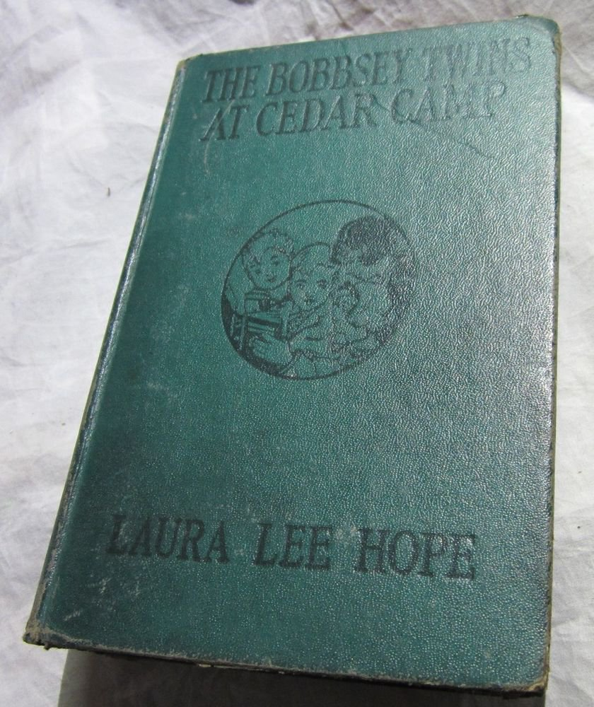 The Bobbsey Twins at Cedar Camp~Laura Lee Hope~1921 antique book~FREE US SHIP