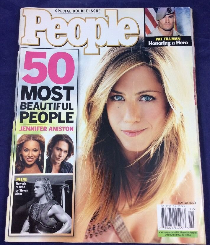 People Magazine May 10, 2004 Jennifer Aniston