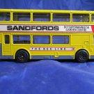 Corgi Metrobus~Sandfords yellow The Bee Line Aylesbury double decker bus