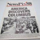 NY Daily News employee publication: News Pix/Newspix~1988~FREE US SHIP