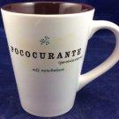 Starbucks Pococurante Nonchalant Coffee Mug 13 Oz 2006