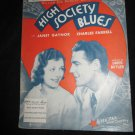 Just Like in a Story Book sheet music~movie High Society Blues~Janet Gaynor
