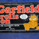 Garfield Rolls On His Eleventh Book by Jim Davis 1985 first edition