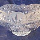 """Mikasa glass bowl 9"""" diameter & 5.25"""" tall"""