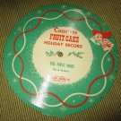 Countess Fruit Cake Holiday Record~General Baking Co~Christmas Fruitcake