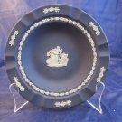 Wedgwood Jasperware 7 inch Dish Plate Ashtray Dark Blue Cobalt circa 1909-1930