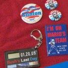 US political memorabilia~Democrats~Clinton~Obama~Cuomo~Mondale~FREE US SHIPPING