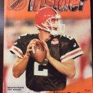 Cleveland Browns Vs Indianapolis Colts December 26 1999 Program NFL Football