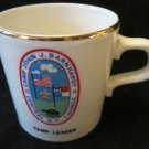 1974 Boy Scouts Mug from Camp John J Barnhardt~Central NC Council Camp Leader
