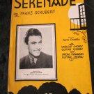 Serenade sheet music by Franz Schubert~featured by Eddie Duchin~FREE US SHIPPING