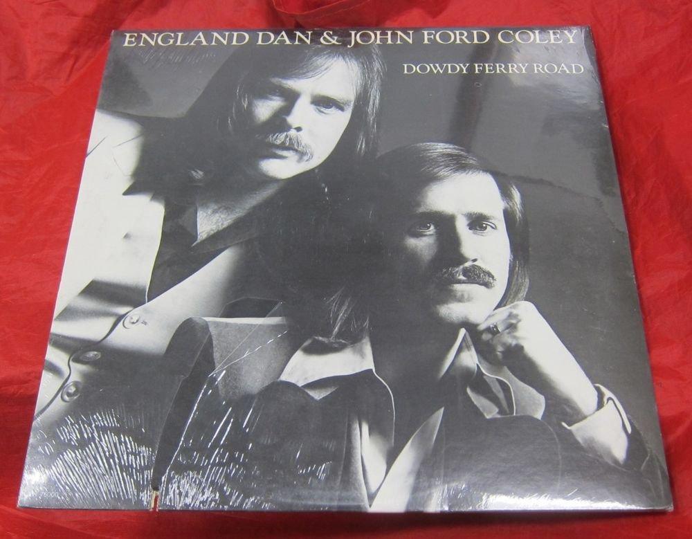 England Dan & John Ford Coley Dowdy Ferry Road record/vinyl/LP~SEALED promo copy