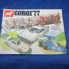 Corgi 1977 Collectors Catalogue Catalog die cast cars vehicle Mettoy Playcraft