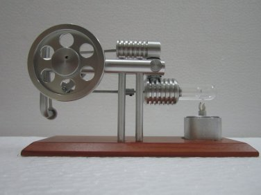 Stirling engine -Ross Yoke  Hot Air Stirling Engine , education toys, model kits ~ JAJ  720