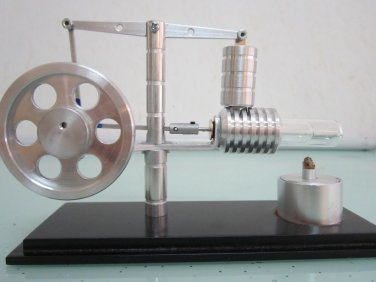 Stirling engine-TOY Walking Beam Hot Air Stirling Engine~no steam,new!!! ~ Free shipping