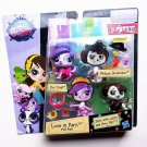 2014 Hasbro Littlest Pet Shop LPS #3688 & 3689 Love in Paris Pet Pair MIP