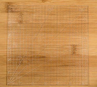 """6"""" Square Ruler.1/8 inch thick Clear Acrylic. Quilting"""