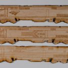 Amtrak GE Genesis magnet three pack