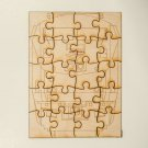 Amtrak GE P42 Laser cut wooden puzzle