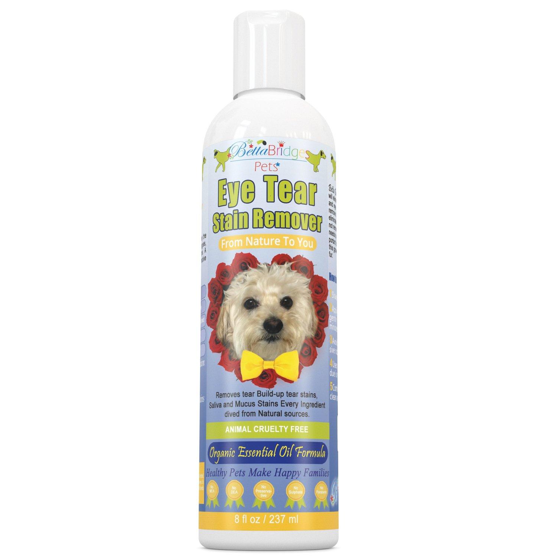 Betta Bridges Pets Natural Tear Stain Remover For Dogs, 8 Oz by Betta Bridges Pets