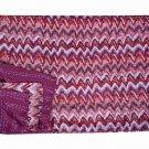 Indian Ikat Kantha Quilt Handmade Bedspread Reversible Twin Size Blanket Gudari