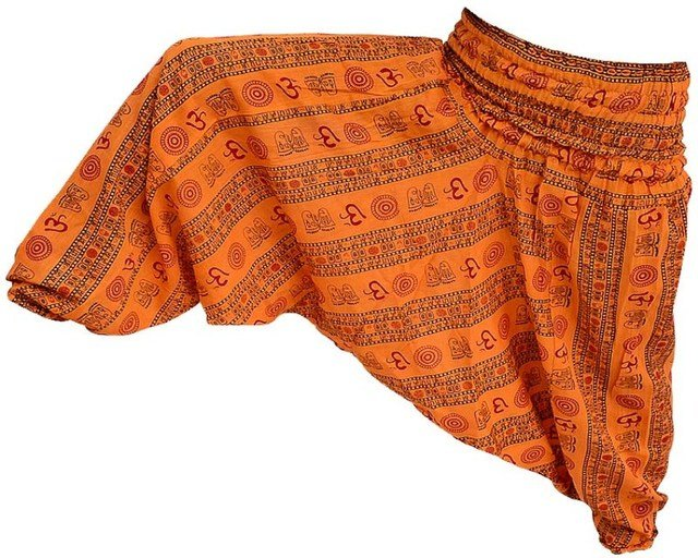 "INDIAN""OM"" ALI BABA HAREM YOGA WOMEN HAREM PANTS TROUSER BAGGY BOHO HIPPIE GYPSY"