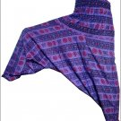 "INDIAN""OM"" ALI BABA HAREM YOGA WOMEN TROUSER HAREM PANTS BAGGY GYPSY BOHO HIPPIE"