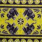 INDIAN ELEPHANT MANDALA COTTON WALL HANGING HIPPIE HOP BEDSHEET VINTAGE TAPESTRY
