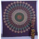 Indian Handmade Mandala Bedspread Table Cloth Bohemian Wall Hanging Tapestry Art