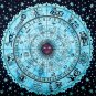Indian Horoscope Zodiac Astrology  Wall Hanging Tapestry Bedsheet Decorat Hippie