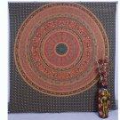 Indian Elephant Mandala Bedspread Hippie Boho Bohemian Wall Hanging Tapestry
