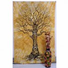 Tree of Life Hippie Indian Tapestry Bohemian Wall Hanging Bedspread Twin Ethnic