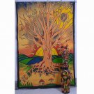 Tree Of Life Mandala Hippie Indian  Wall Hanging Throw Decor Bedspread Tapestry