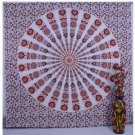 Indian Handmade Mandala Bedspread Table Runner Bohemian Wall Hanging Tapestry