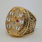 2008 Pittsburgh Steelers XLIII Super bowl championship ring size 11 Back Solid