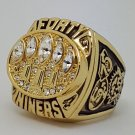 1994 San Francisco 49ERS XXIX Super bowl championship ring size 11 Back Solid