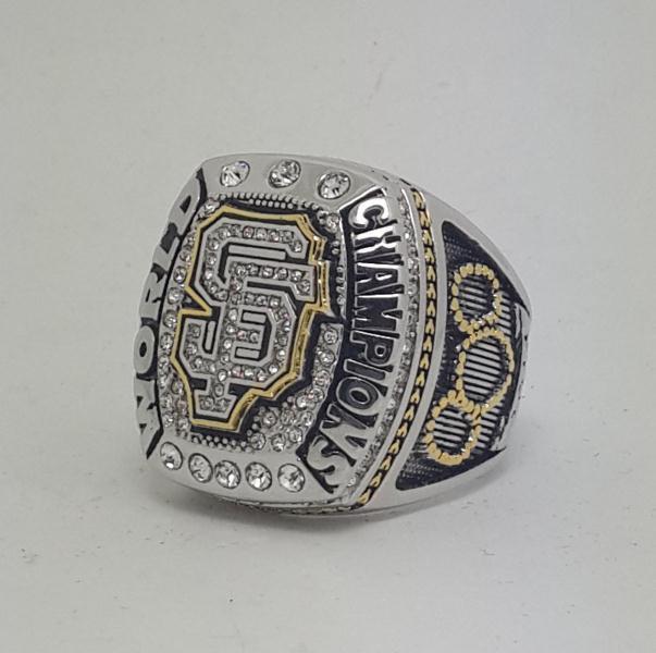 San Francisco Giants 2014 world series championship ring baseball size 9-14 Back Solid