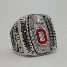 Ohio State Buckeyes 2014 2015 Big Ten championship ring C. JONES football NCAA ring size 9-14 Solid