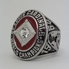 St Louis Cardinals 1964 world series championship ring GIBSON baseball size 11 Back Solid