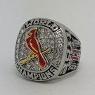 St Louis Cardinals 2011 world series championship ring CARPENTER baseball size 11 Back Solid