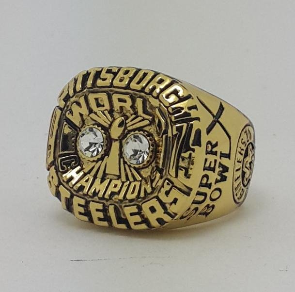 1975 Pittsburgh Steelers X Super bowl championship ring size 11