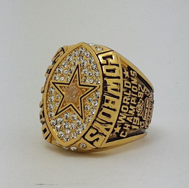 1992 Dallas Cowboys XXVII Super bowl championship ring AIKMAN size 11 Back Solid