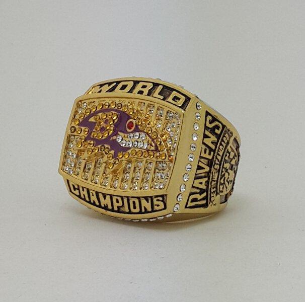 2000 Baltimore Ravens XXXV Super bowl championship ring size 11