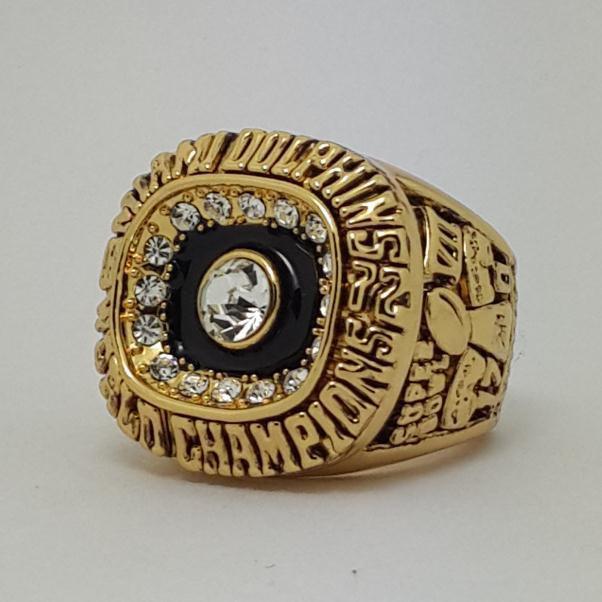 1972 Miami Dolphins VII Super bowl championship ring ROBBIE size 11