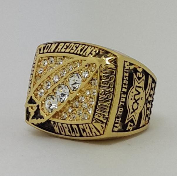1991 Washington Redskins XXVI Super bowl championship ring RYPIEN size 11