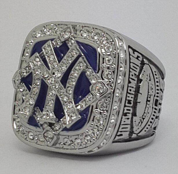 New York Yankees 2009 world series championship ring baseball size 11 Back Solid