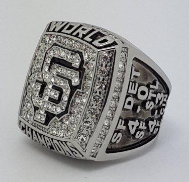 San Francisco Giants 2012 world series championship ring SANDOVAL baseball MLB size 11 Back Solid