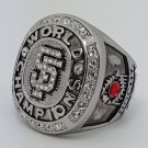 San Francisco Giants 2010 world series championship ring BOCHY baseball MLB size 11 Back Solid