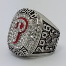 2008 Philadelphia Phillies world series championship ring HOWARD baseball MLB size 11 Back Solid