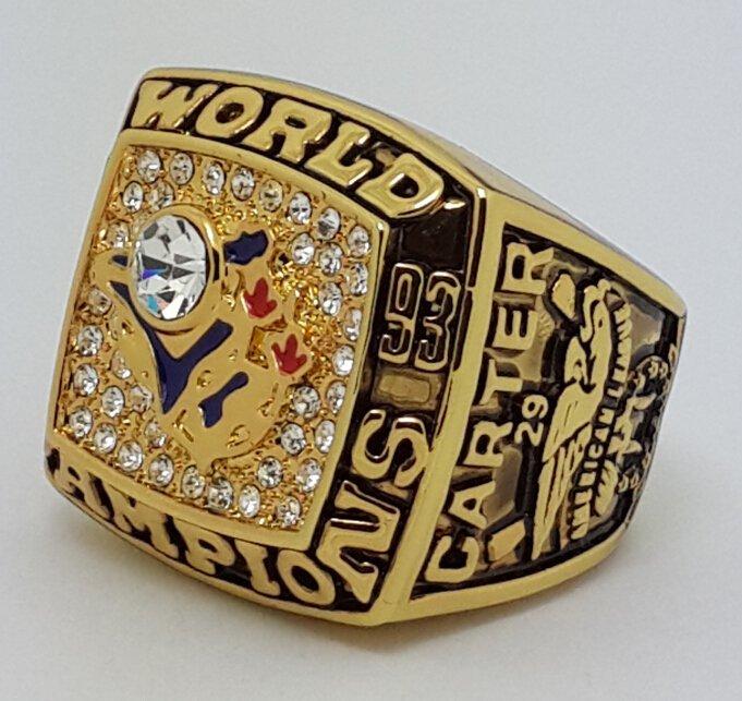 1993 Toronto Blue Jays world series championship ring CARTER baseball MLB size 11 Back Solid